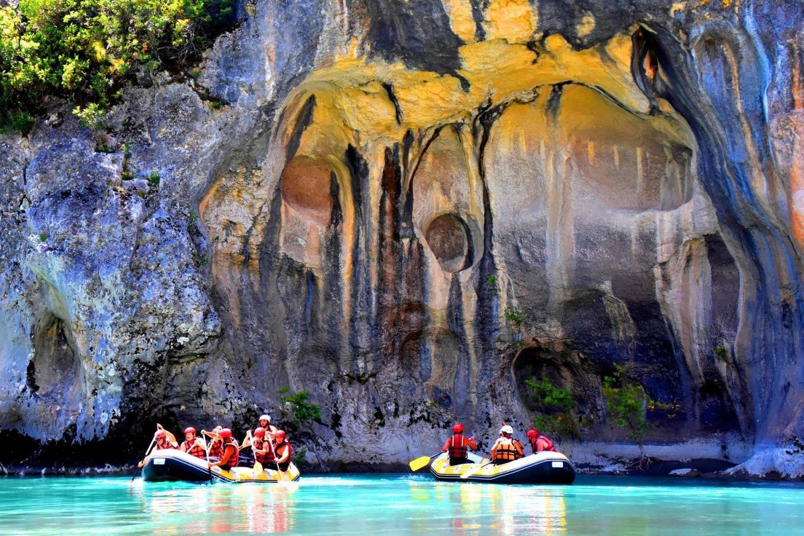 Rafting w Albanii