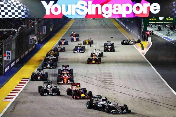 Wyjazd firmowy Formuła 1 GP Singapur