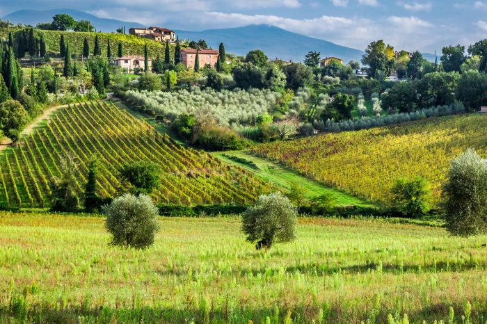 Wycieczka Ogrody Toskanii