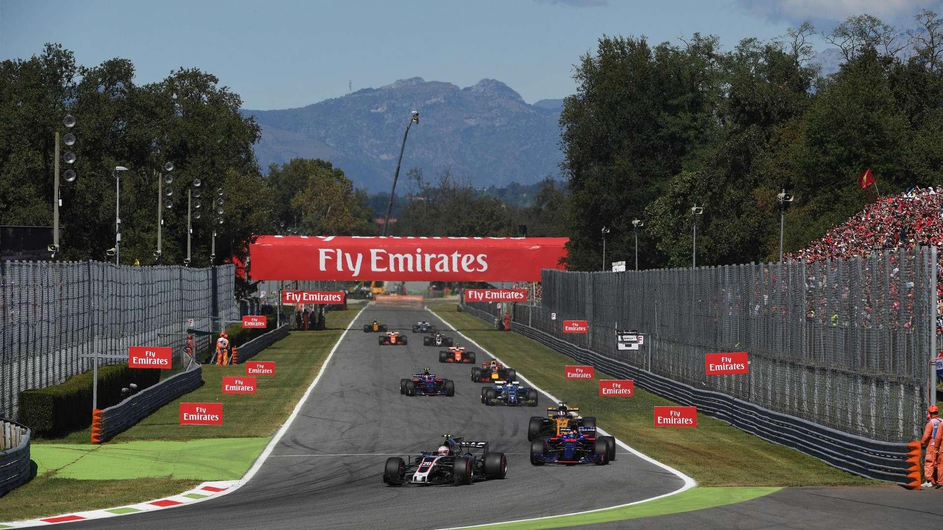 Wyjazd firmowy Formuła 1 Włochy