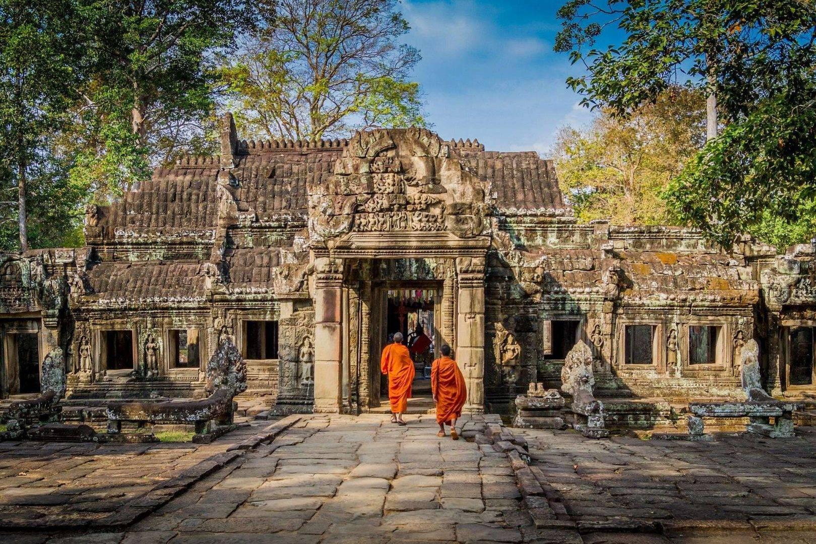 Wycieczki firmowe do Kambodży