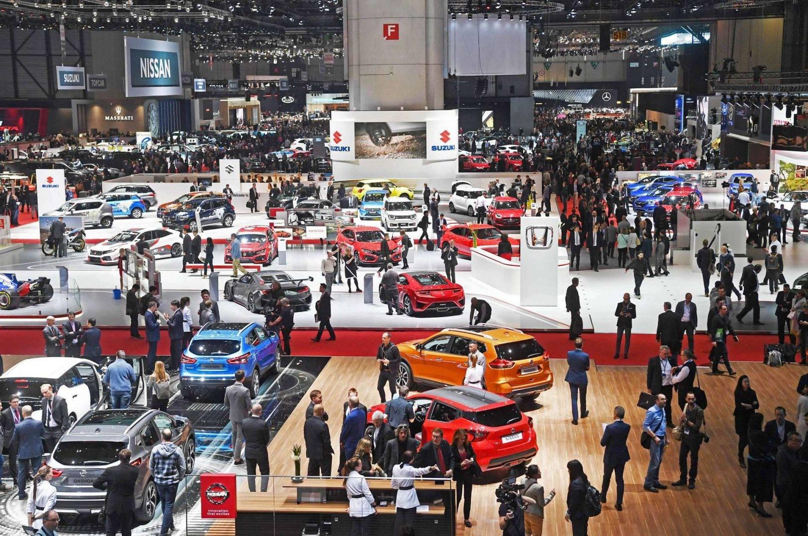 Wyjazd firmowy Moto Show Genewa