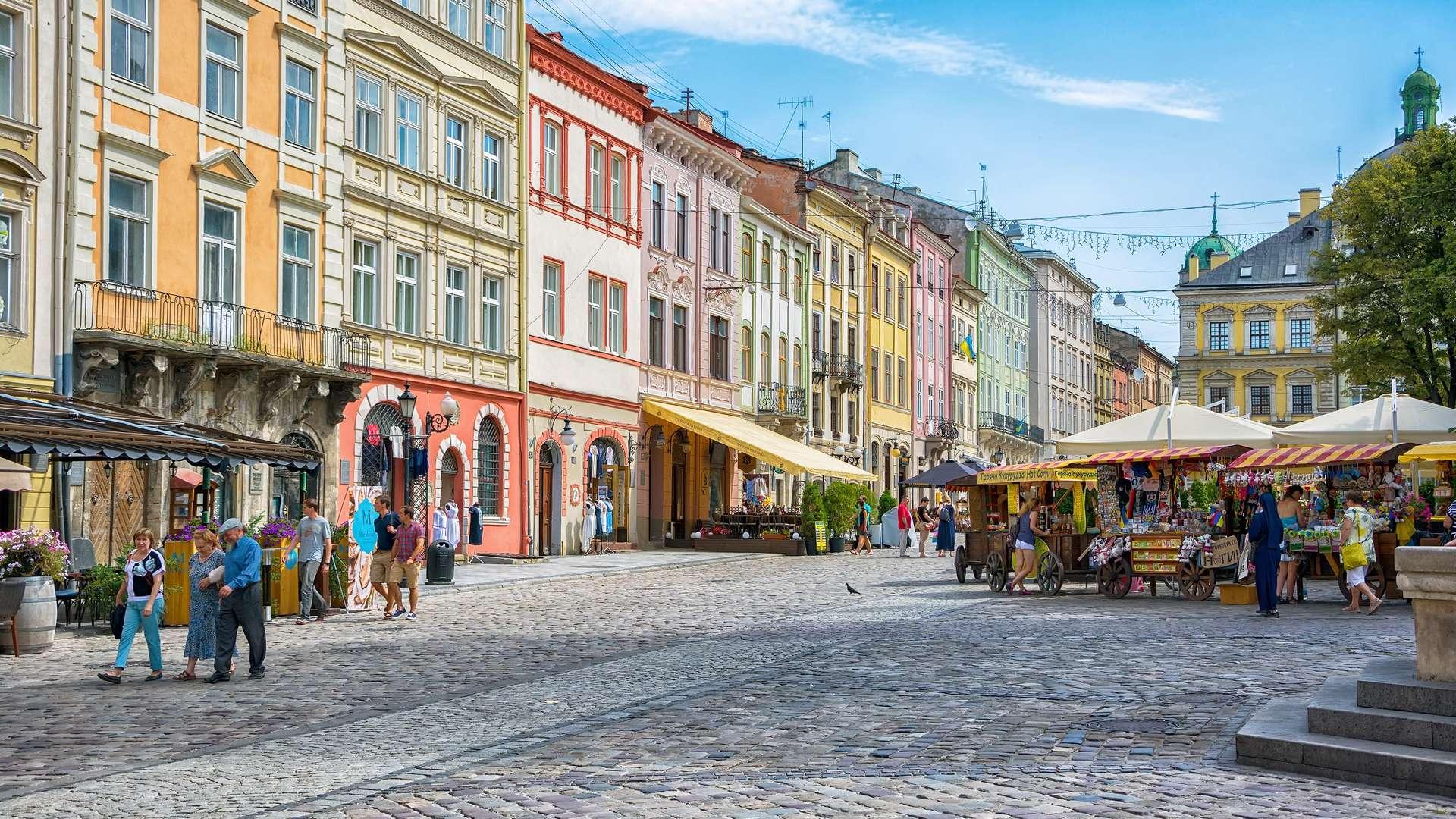 Tania wycieczka firmowa do Lwowa