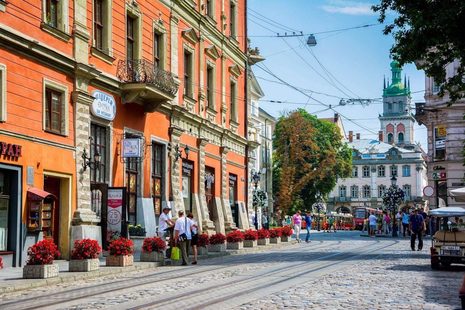 Wycieczka samolotowa do Lwowa