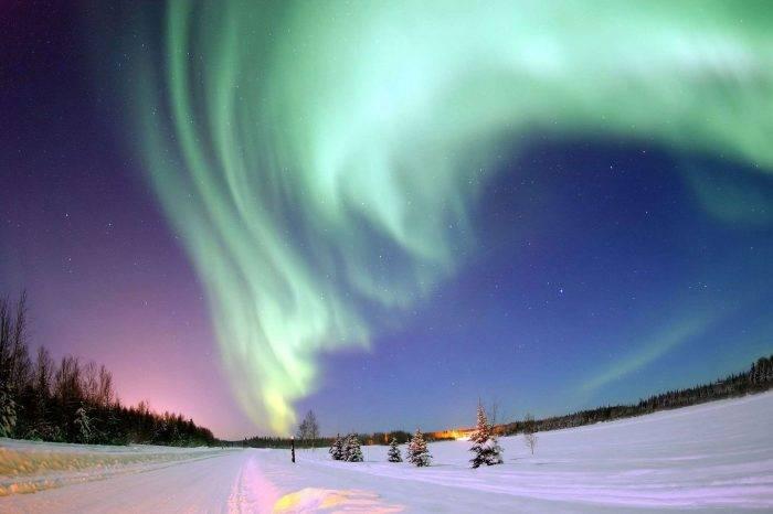 Wycieczka oglądanie zorzy polarnej